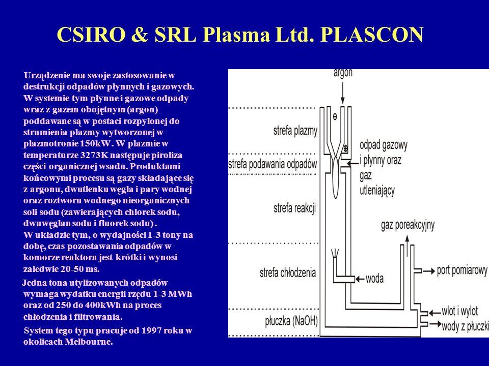 CSIRO & SRL Plasma Ltd. PLASCON
