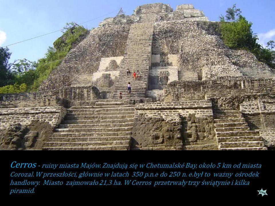 Cerros - ruiny miasta Majów