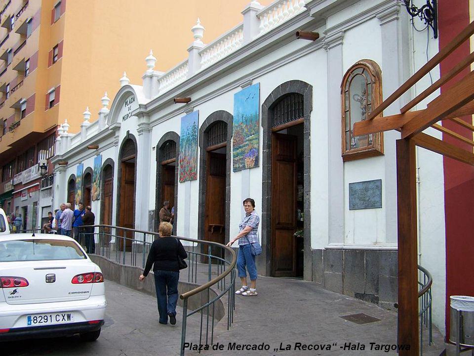 """Plaza de Mercado """"La Recova -Hala Targowa"""