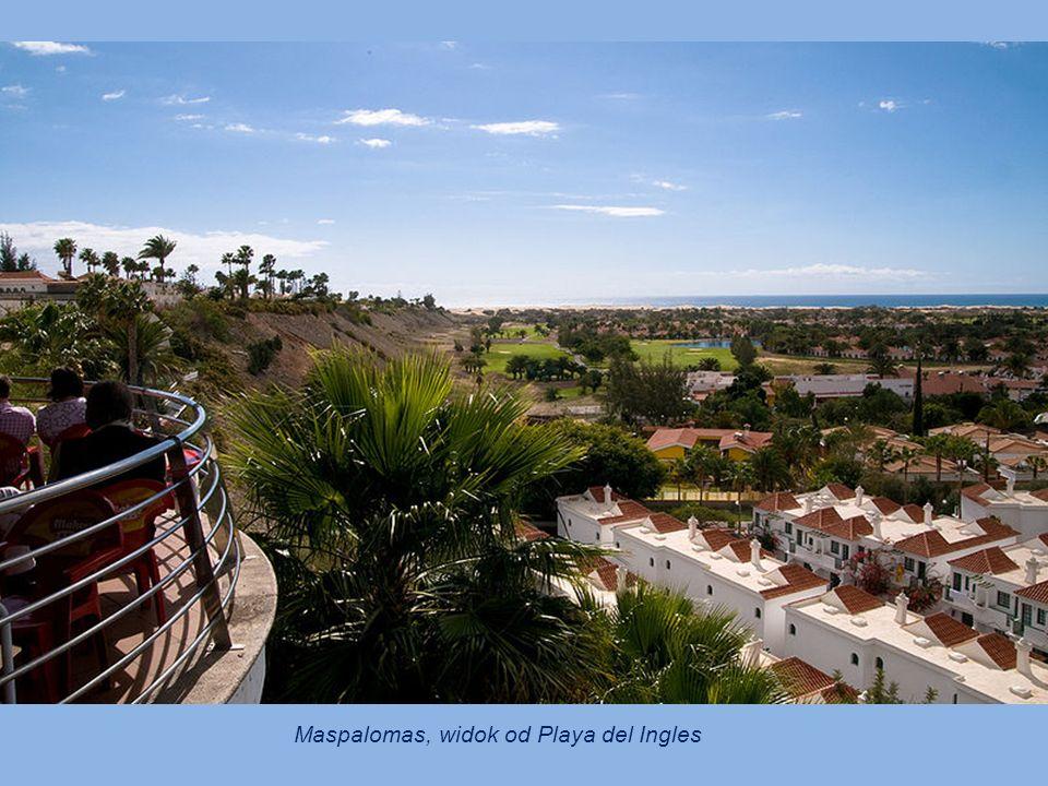 Maspalomas, widok od Playa del Ingles
