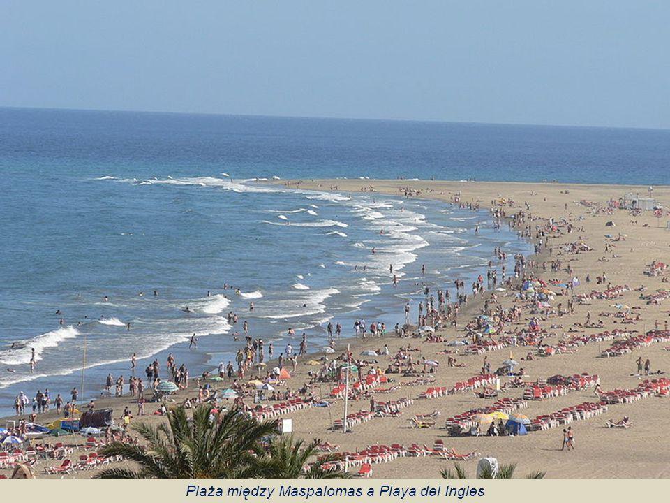 Plaża między Maspalomas a Playa del Ingles