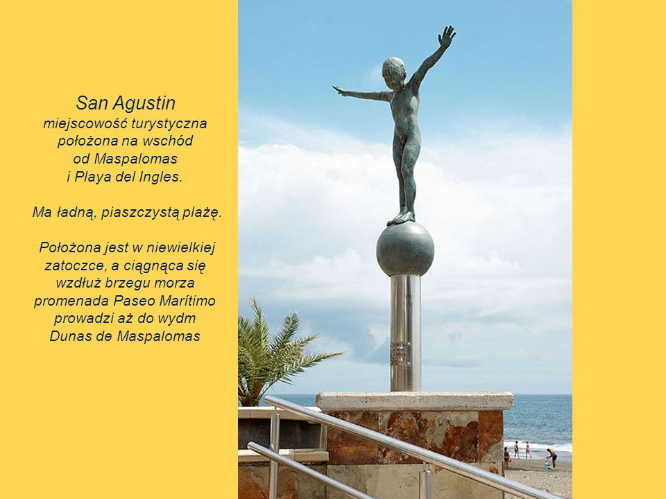 San Agustin miejscowość turystyczna położona na wschód od Maspalomas