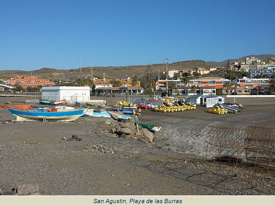 San Agustin, Playa de las Burras