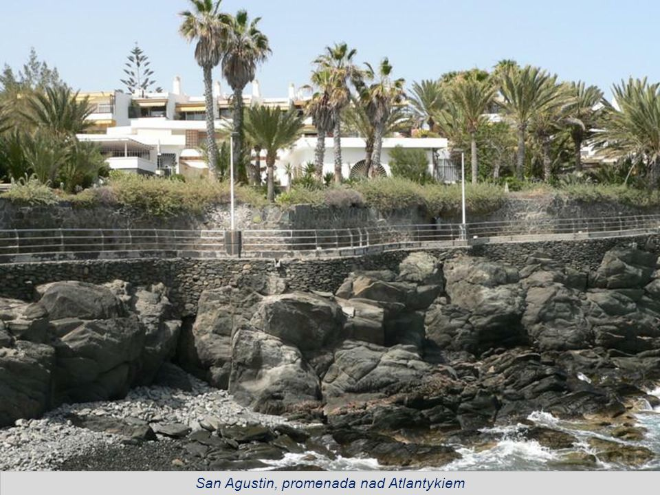 San Agustin, promenada nad Atlantykiem