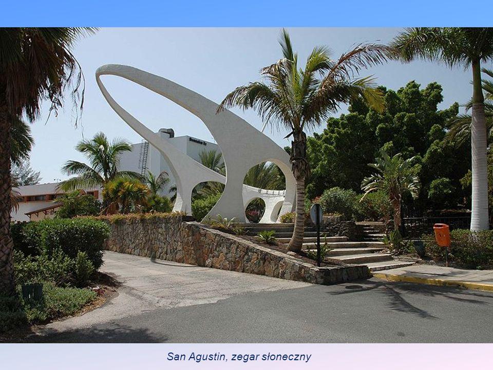 San Agustin, zegar słoneczny