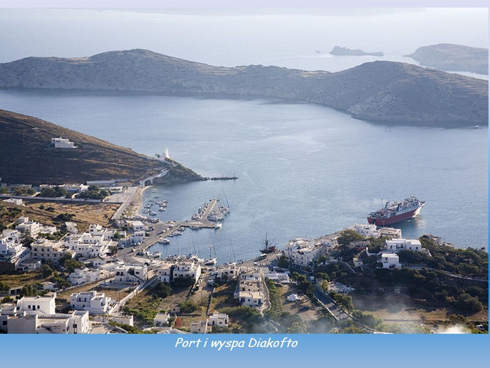 Port i wyspa Diakofto