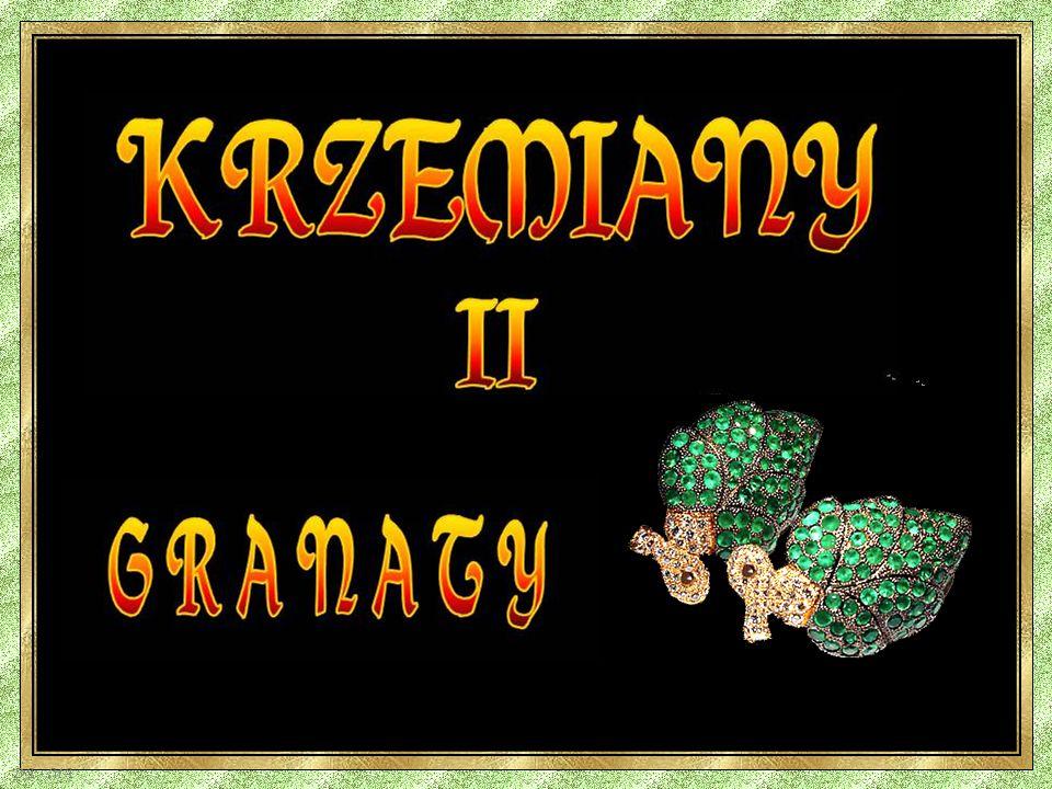 KRZEMIANY II G R A N A T Y DA - MA