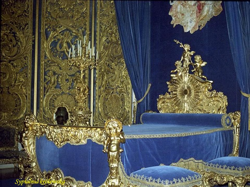 Sypialnia królewska