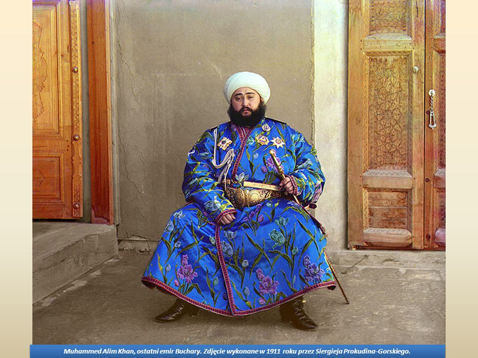 Muhammed Alim Khan, ostatni emir Buchary
