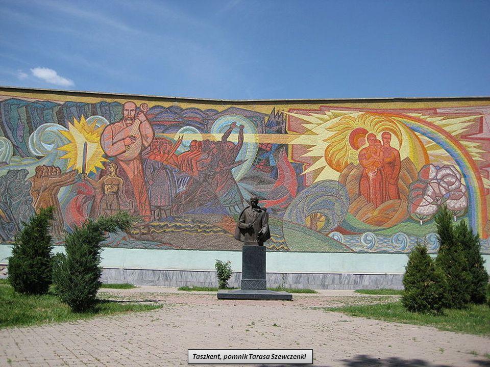 Taszkent, pomnik Tarasa Szewczenki