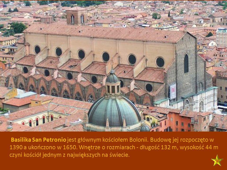 Basilika San Petronio jest głównym kościołem Bolonii