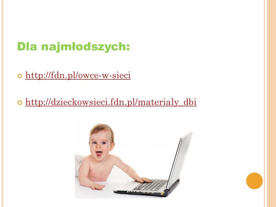 Dla najmłodszych: http://fdn.pl/owce-w-sieci