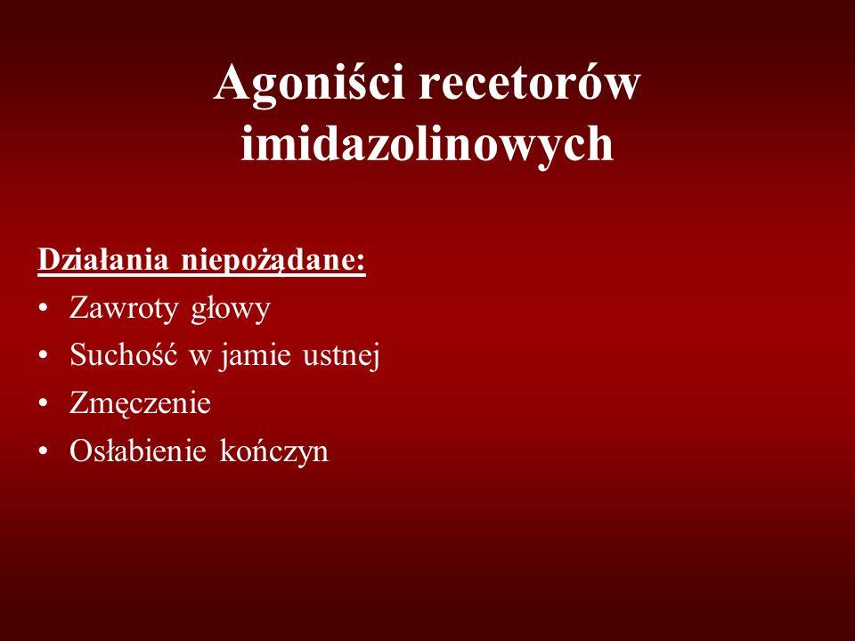 Agoniści recetorów imidazolinowych