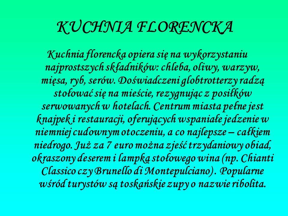 KUCHNIA FLORENCKA