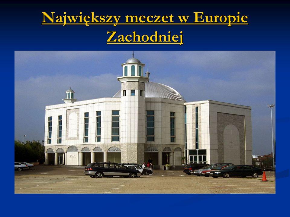 Największy meczet w Europie Zachodniej