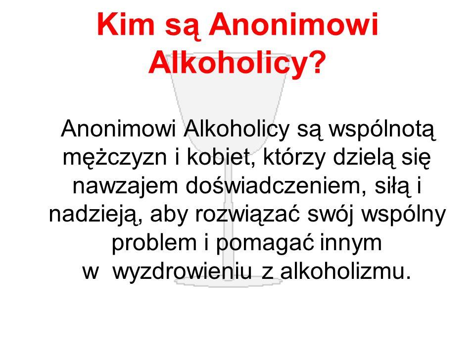 Kim są Anonimowi Alkoholicy