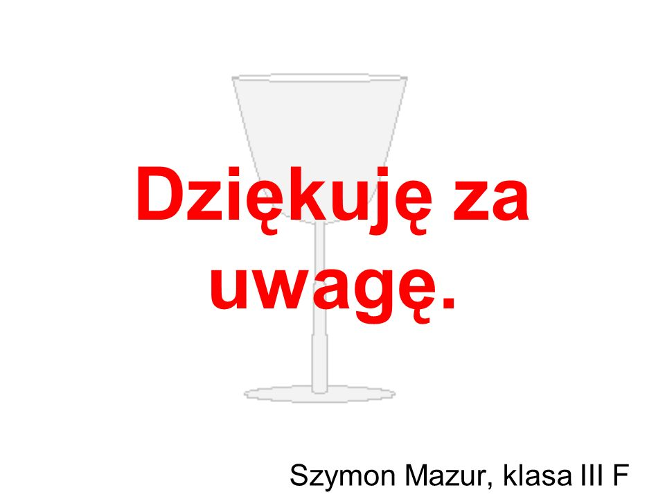 Szymon Mazur, klasa III F