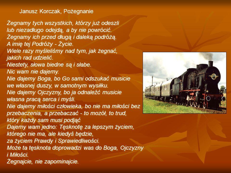 Janusz Korczak, Pożegnanie