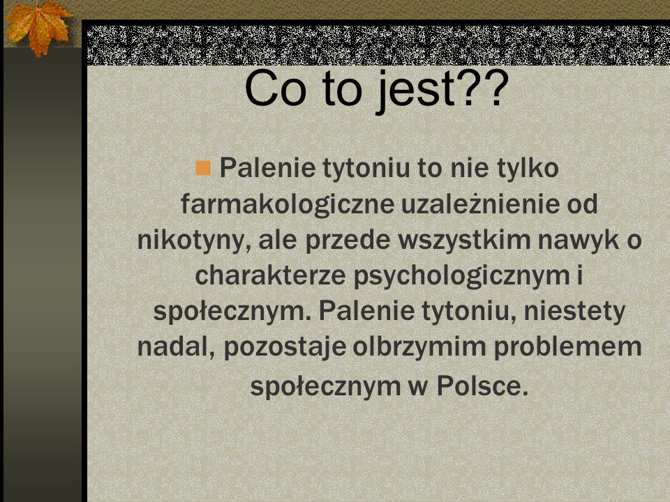 Co to jest