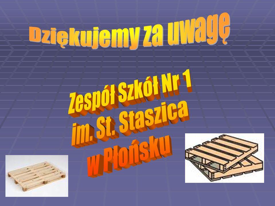 Dziękujemy za uwagę Zespół Szkół Nr 1 im. St. Staszica w Płońsku