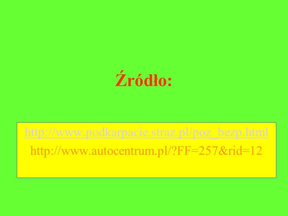 Źródło: http://www.podkarpacie.straz.pl/poz_bezp.html