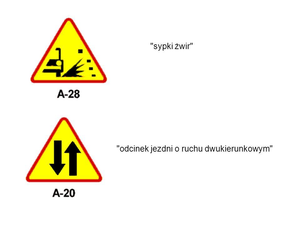 odcinek jezdni o ruchu dwukierunkowym