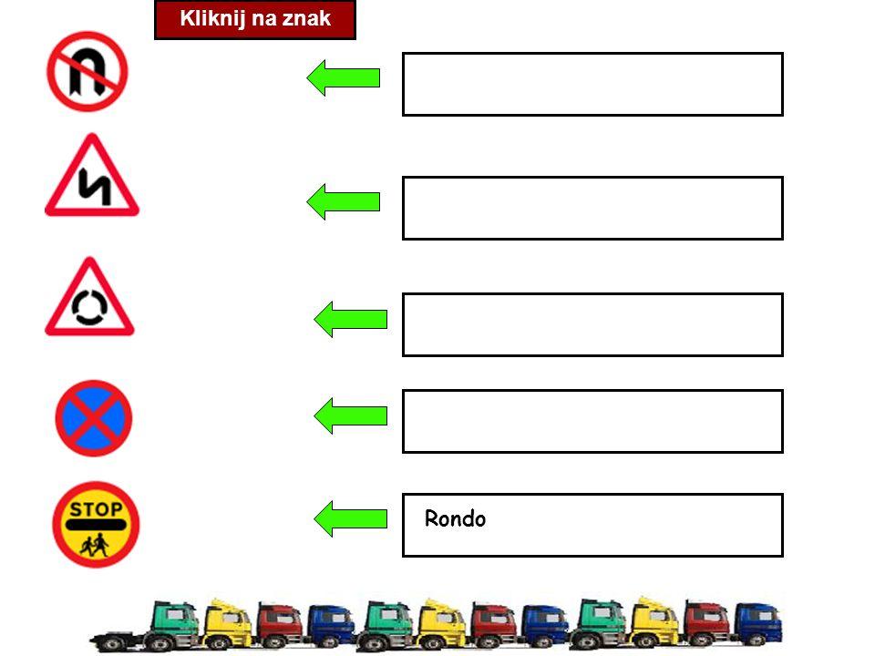 Kliknij na znak Rondo