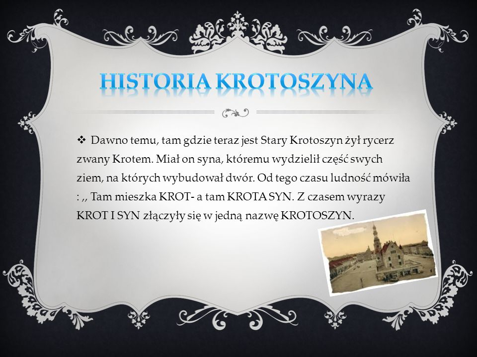 Historia Krotoszyna