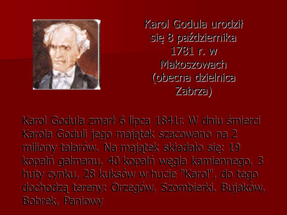 Karol Godula urodził się 8 października 1781 r