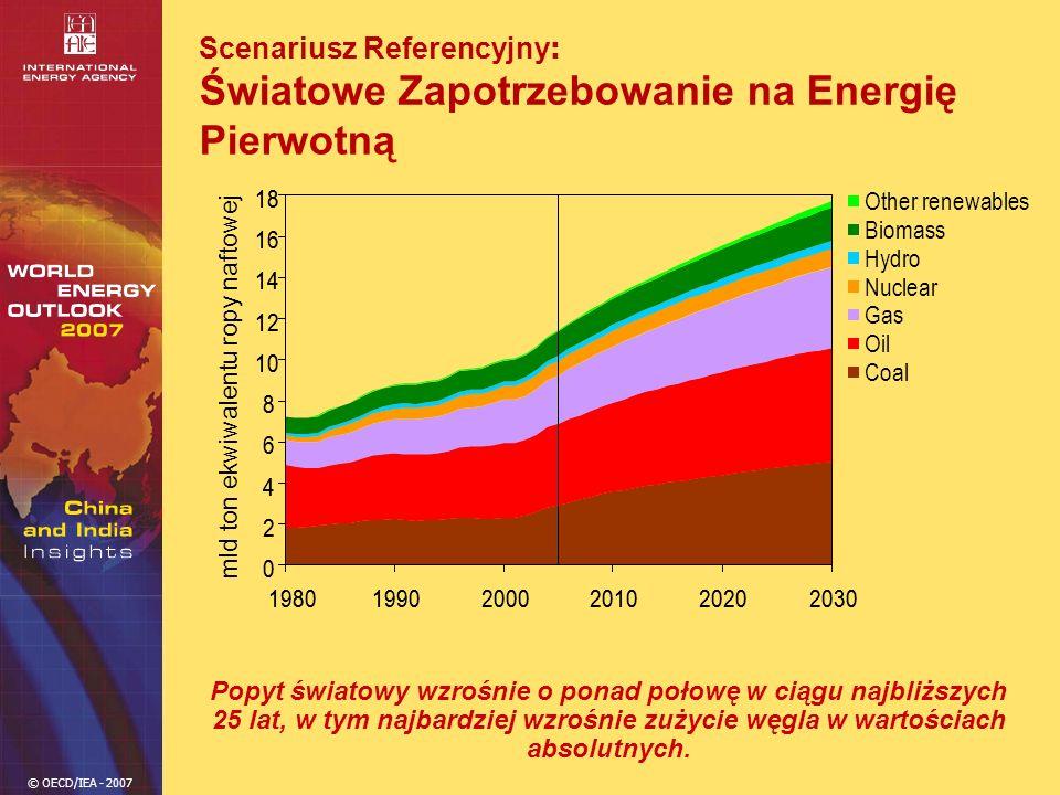 Scenariusz Referencyjny: Światowe Zapotrzebowanie na Energię Pierwotną