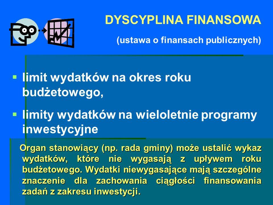 DYSCYPLINA FINANSOWA (ustawa o finansach publicznych)