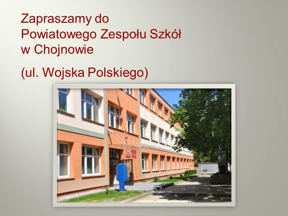 Zapraszamy do Powiatowego Zespołu Szkół w Chojnowie
