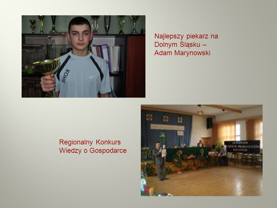 Najlepszy piekarz na Dolnym Śląsku – Adam Marynowski
