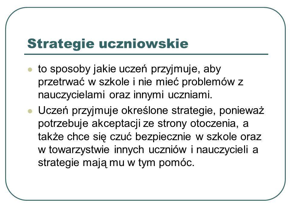 Strategie uczniowskie