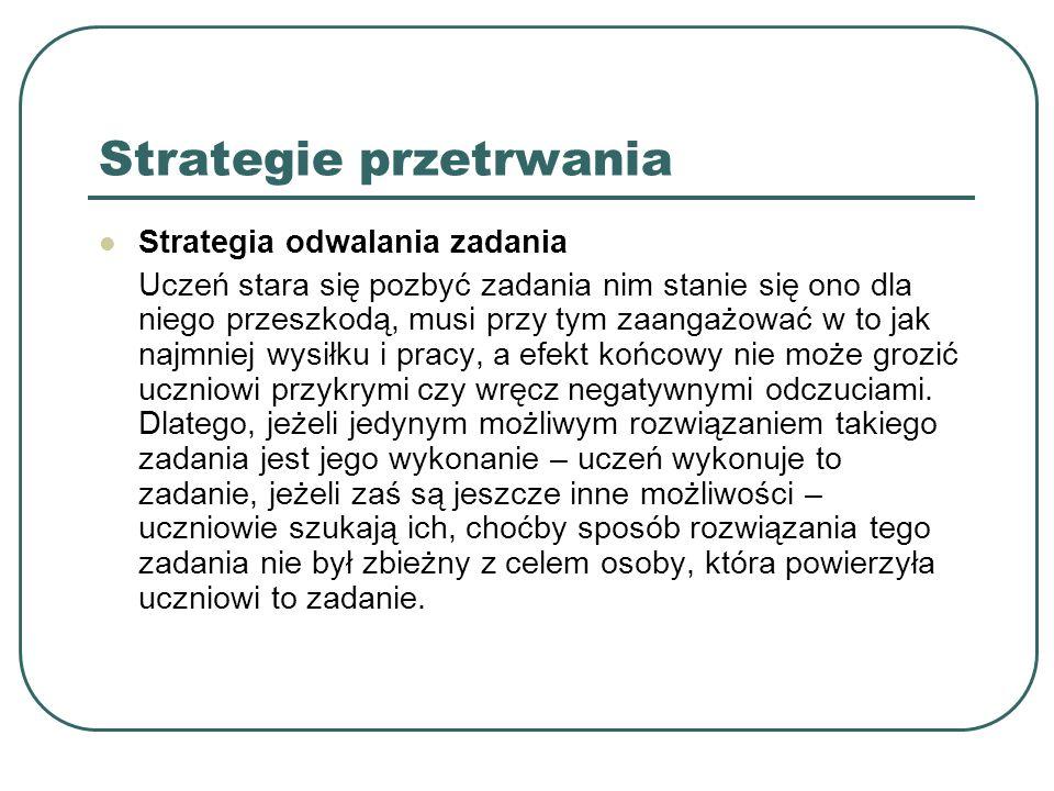 Strategie przetrwania