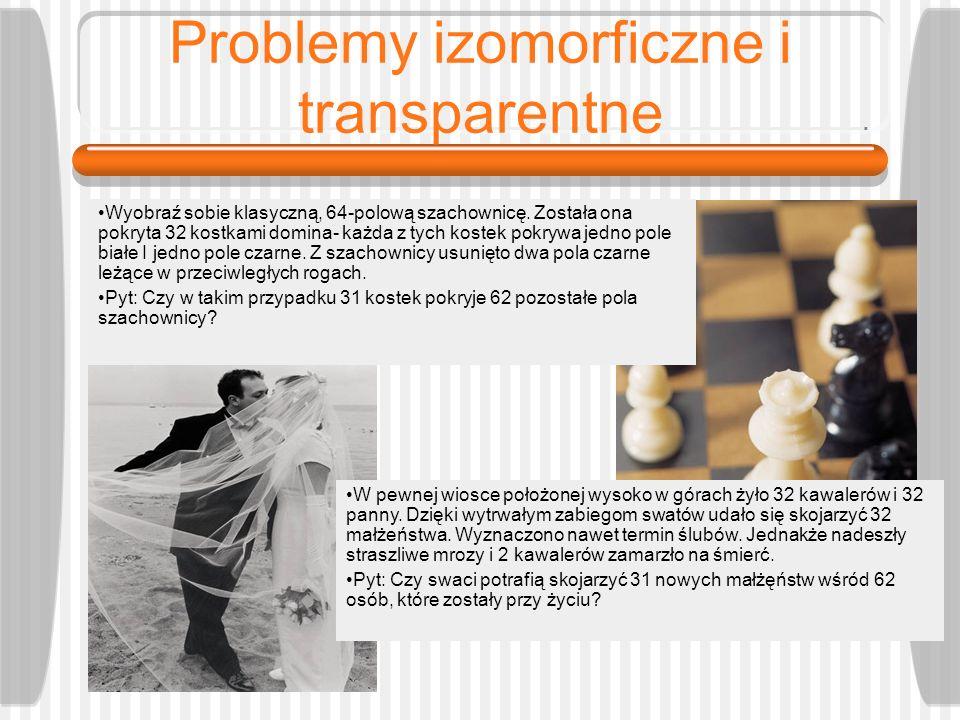 Problemy izomorficzne i transparentne