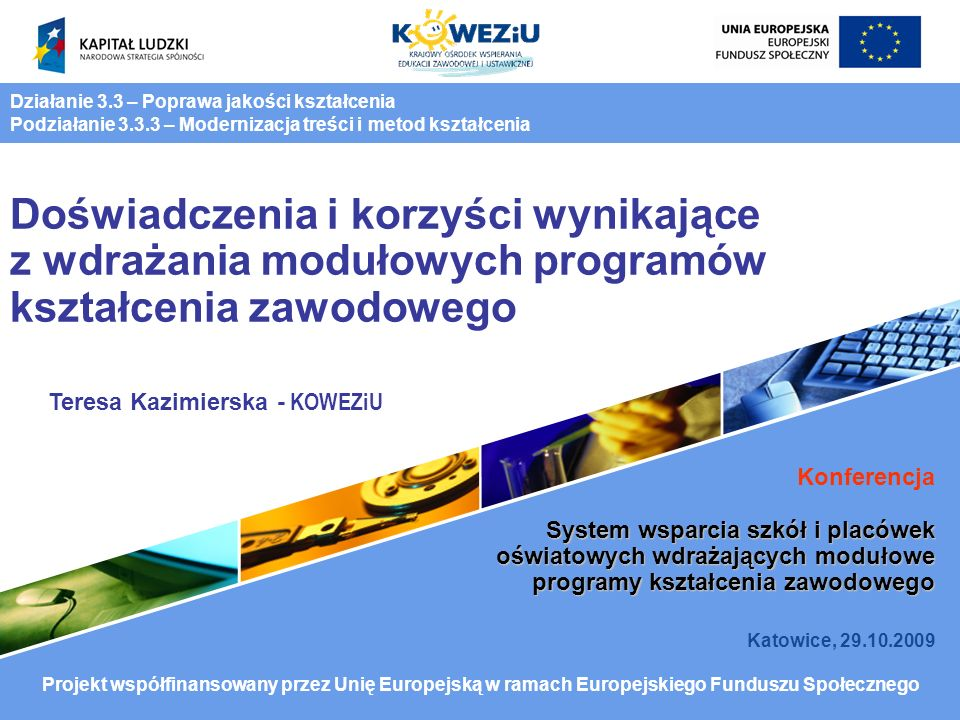 Teresa Kazimierska - KOWEZiU