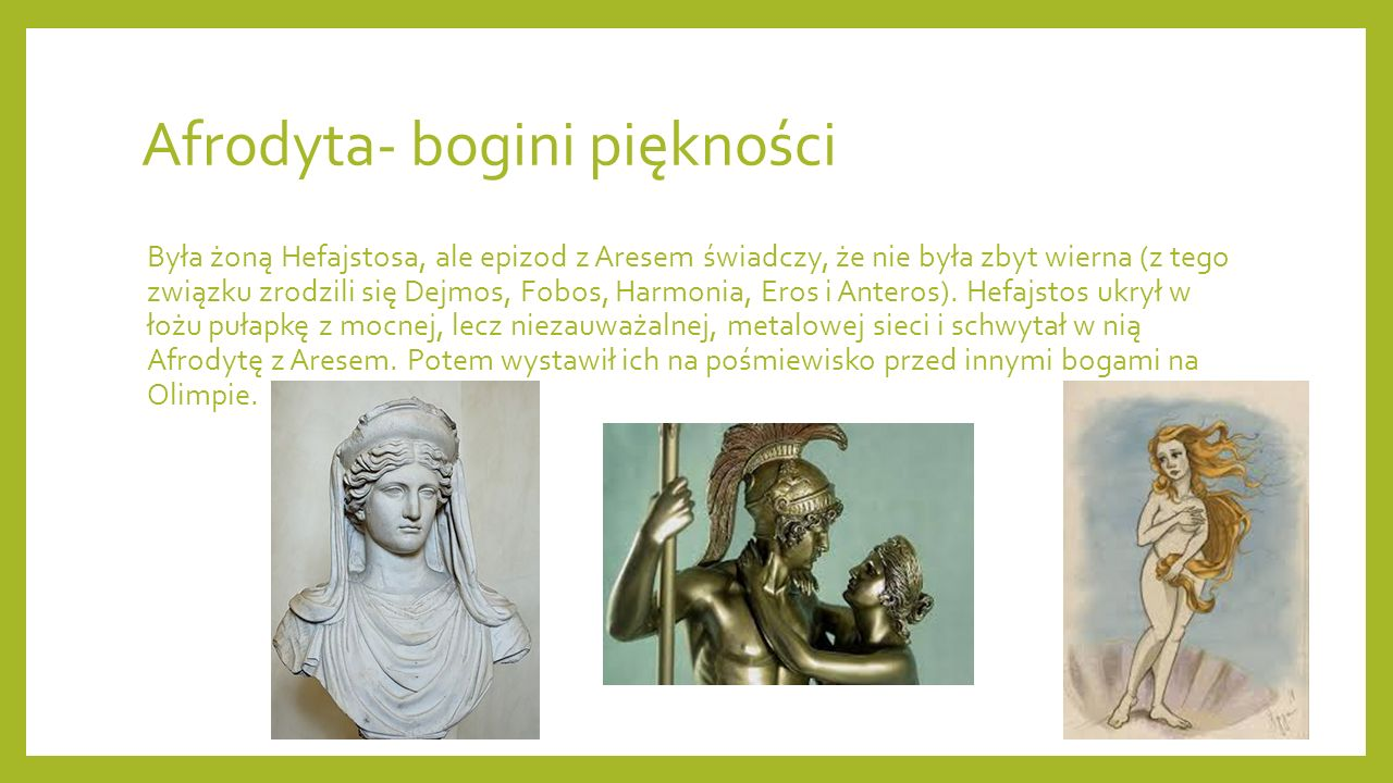 Afrodyta- bogini piękności