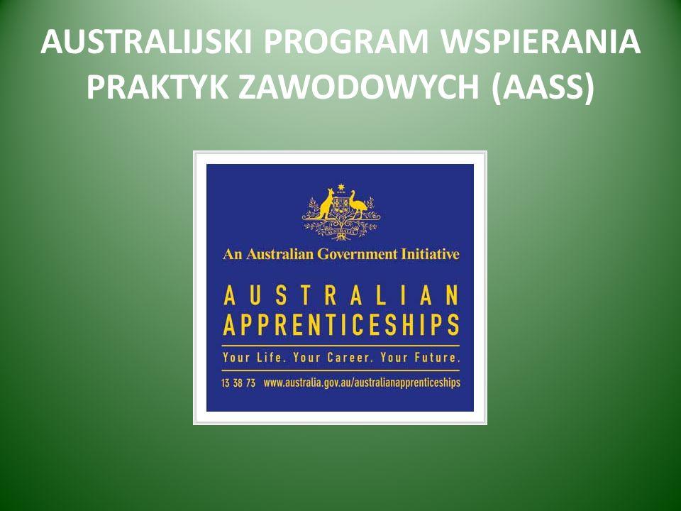 AUSTRALIJSKI PROGRAM WSPIERANIA PRAKTYK ZAWODOWYCH (AASS)