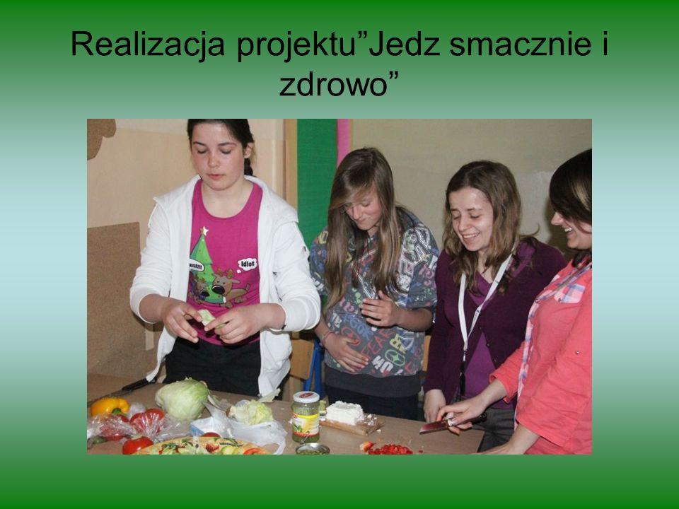 Realizacja projektu Jedz smacznie i zdrowo
