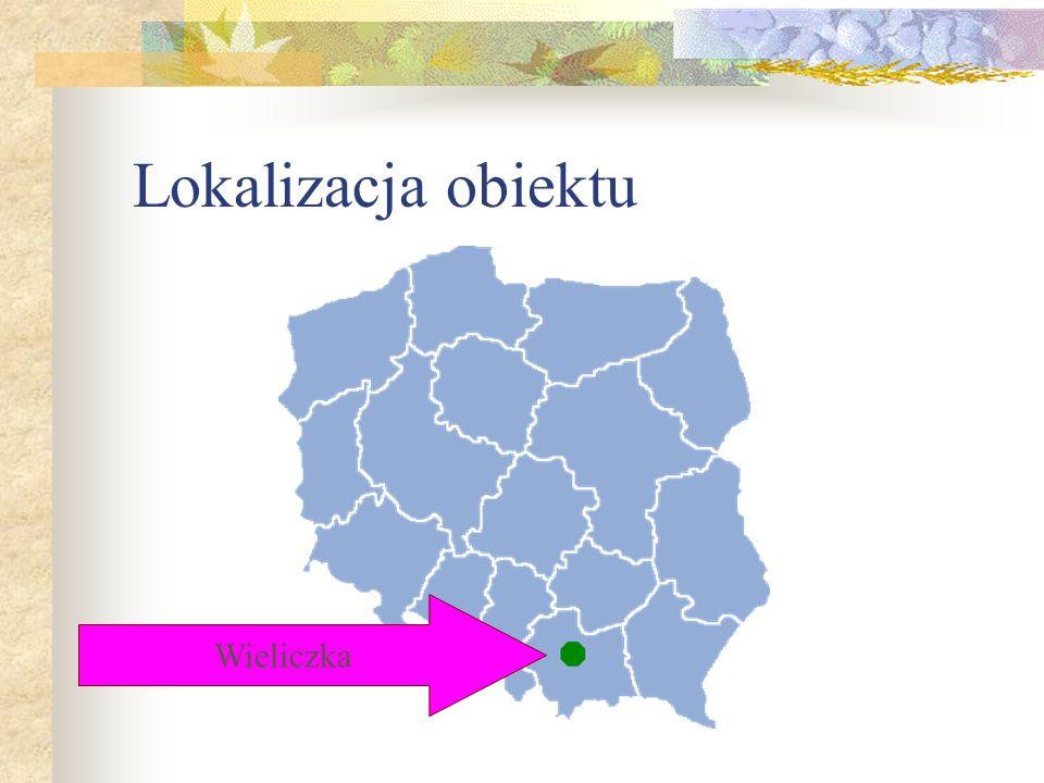 Lokalizacja obiektu Wieliczka