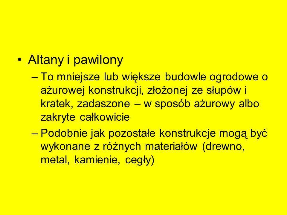 Altany i pawilony