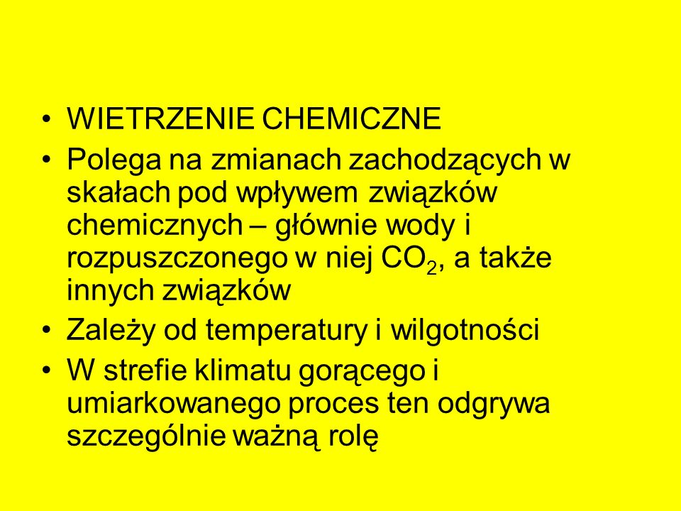 WIETRZENIE CHEMICZNE