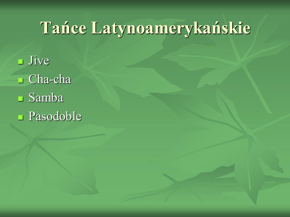 Tańce Latynoamerykańskie