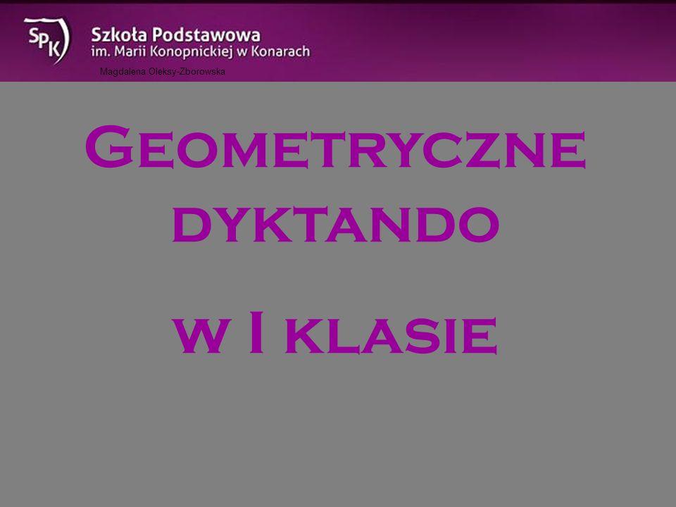 Geometryczne dyktando