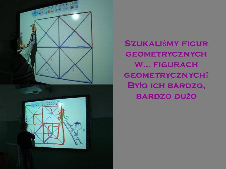 Szukaliśmy figur geometrycznych w… figurach geometrycznych