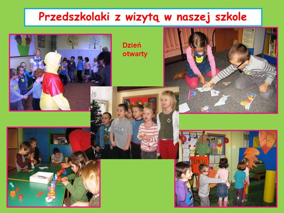 Przedszkolaki z wizytą w naszej szkole