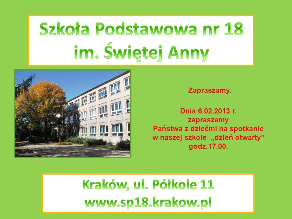 Szkoła Podstawowa nr 18 im. Świętej Anny