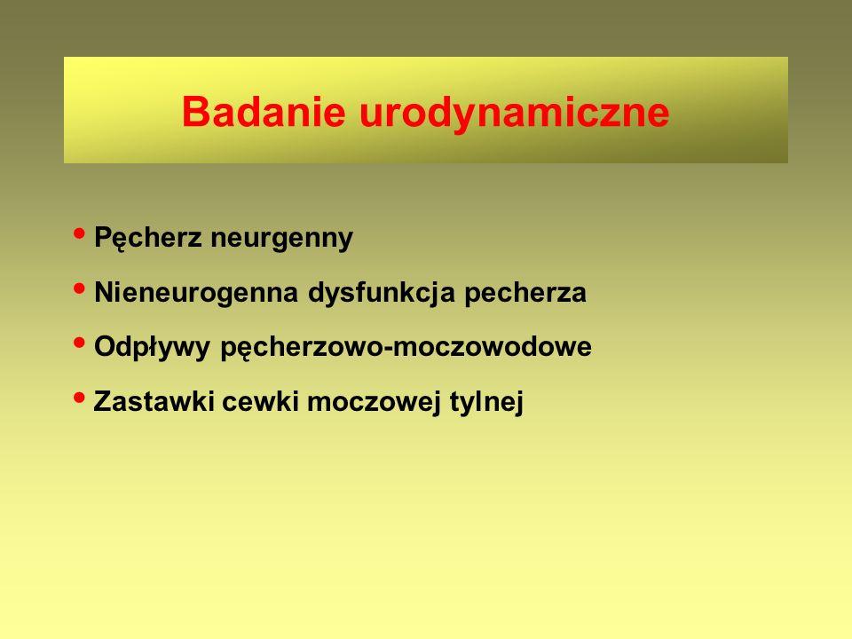 Badanie urodynamiczne