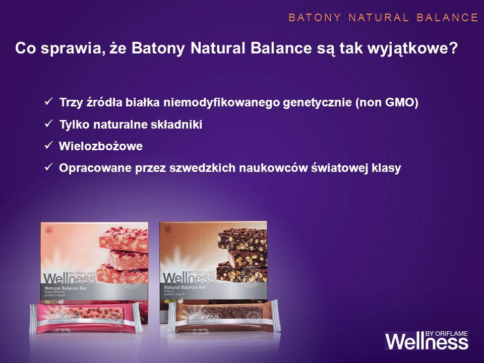 Co sprawia, że Batony Natural Balance są tak wyjątkowe